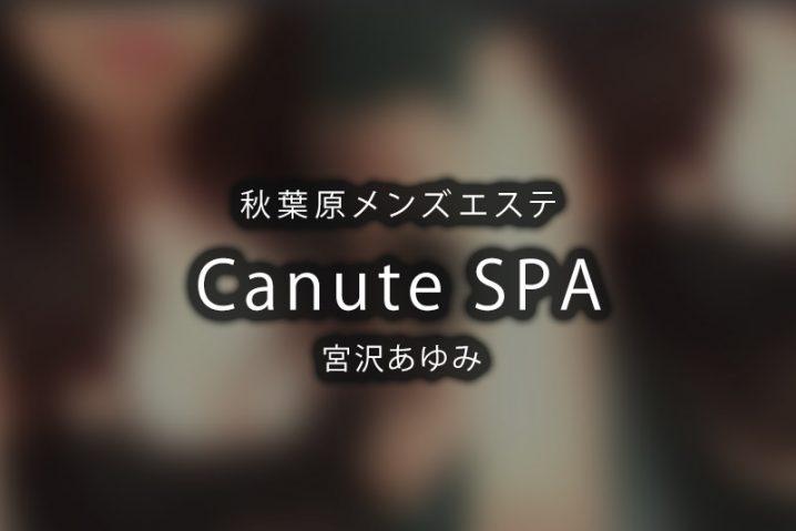 【体験】秋葉原「Canute SPA」宮沢あゆみ【閉店】