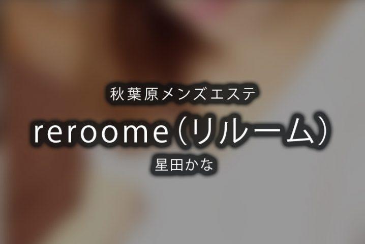 【体験】秋葉原「reroom(リルーム)」星田かな【閉店】