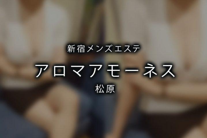 【体験】新宿「アロマアモーネス」松原【閉店】