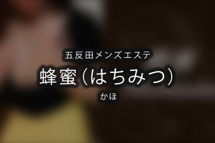 【体験】五反田「蜂蜜(はちみつ)」かほ【閉店】