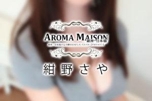 【体験】小伝馬町「アロマメゾン」紺野さや〜体はもう離れられない〜