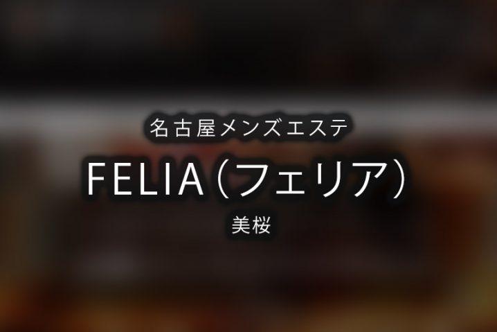 【体験】名古屋「FELIA(フェリア)」美桜〜その瞳に包まれて〜