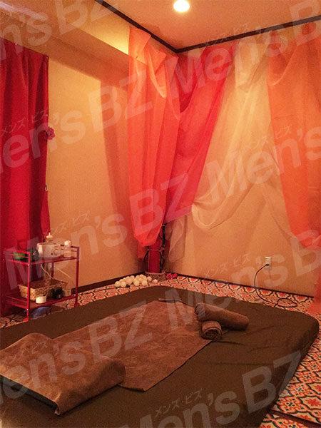 飯田橋カグラザカの施術部屋の写真です。
