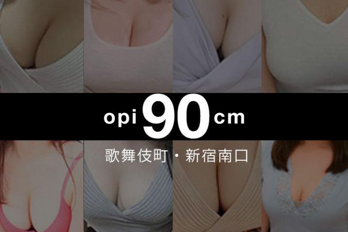 【2020年6月更新】歌舞伎町・新宿南口おっぱい90cm以上の巨乳・爆乳セラピスト【24名】