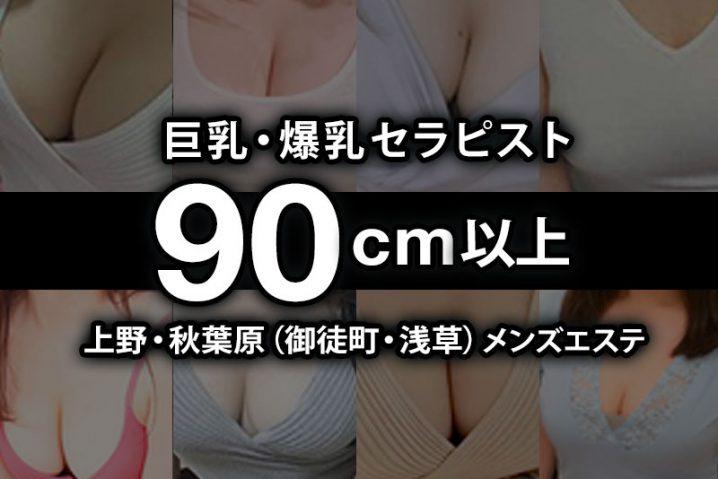 【2020年11月更新】上野・秋葉原(御徒町・浅草)おっぱい90cm以上の巨乳・爆乳セラピスト【123名】