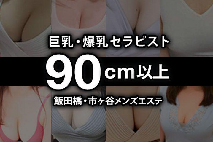 【最新版】飯田橋・市ヶ谷おっぱい90cm以上の巨乳・爆乳セラピスト【69人】