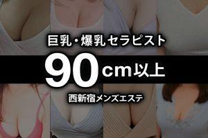【2020年11月】西新宿おっぱい90cm以上の巨乳・爆乳セラピスト【106人】