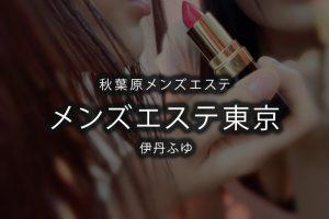 【体験】秋葉原「メンズエステ東京」ふゆ【退店済み】