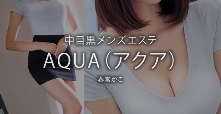 【体験】中目黒「AQUA(アクア)」春宮かこ〜真空!手のひら鼠径部地獄〜