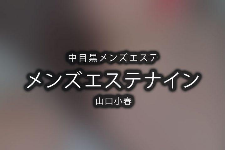 【体験】中目黒「メンズエステナイン」山口小春【閉店】