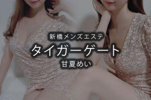 【体験】新橋「タイガーゲート」甘夏めい〜100分フル仰向けでフル悶絶〜